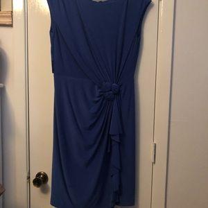Jones New York Royal blue dress